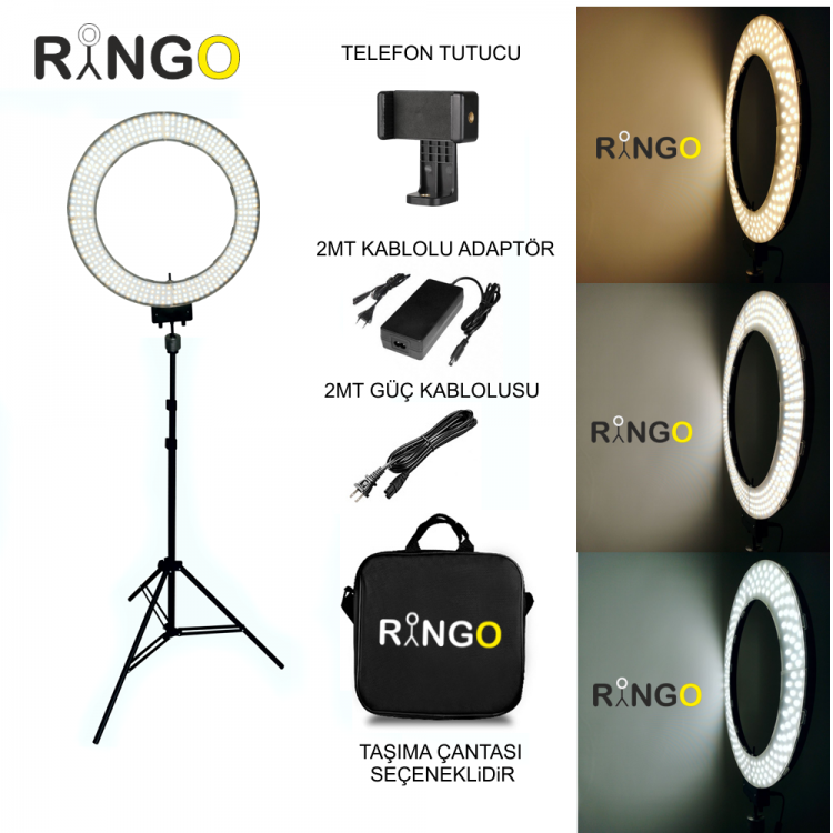 18 inch Ring Light Kurulumu